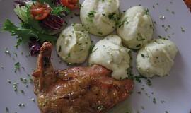 Francouzské kuřátko na šafránu
