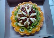 Třepací dort s ovocem