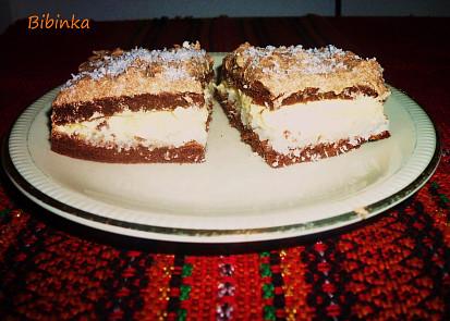 Řezy s kokosovou a vanilkovou náplní