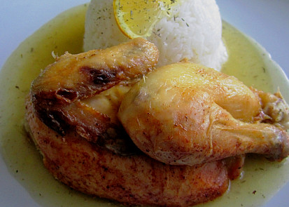 Kuřátko Coquelete na muškátovém oříšku