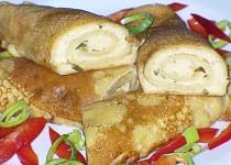 Slané palačinky s balkánským sýrem