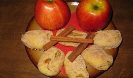 Tvarohové kapsičky s jablky