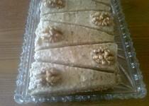 Krupicový dort