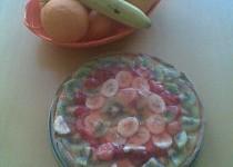 Lehký koláč s tvarohem ovocem