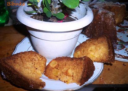 Vlhká ananasová bábovka-hrníčková