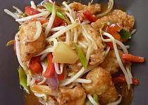 Čínská klasika sladkokyselá ryba