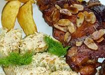 Kuřecí steaky s gratinovaným fenyklem