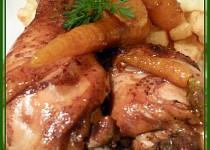 Medové paličky s vůní perníku a glazovanou mrkví