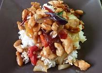 Sečuánské kuře Kung Pao