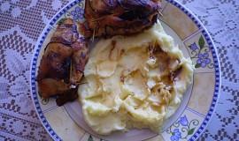 Pečené kuřecí závitky.