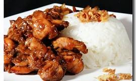 Restované marinované maso po asijsku