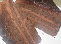Čokoládový dort na Valentýna
