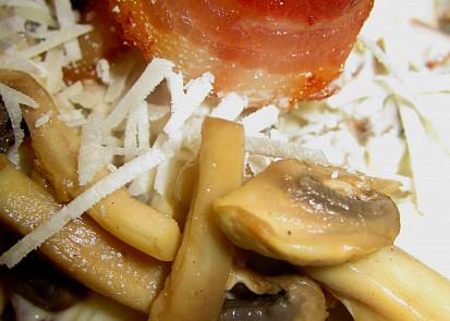Salát Champignon-Bacon-Pecorino