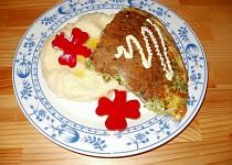Brokolicová omeleta se sýrem