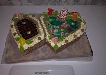 Narozeninový dort pro neteř