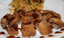 Kotleta na způsob japonského tonkatsu