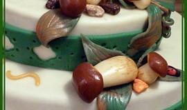 Houbařský dort
