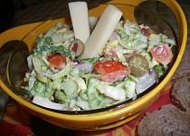 Zeleninový salát s Cottage