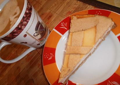 Crostata di ricotta - sicilský mřížkový koláč- zdravěji