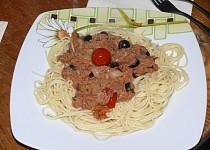 Spaghetti s tuňákem