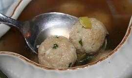 Hermelínové knedlíčky do polévky