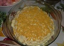 Salát z krabích tyčinek s ananasem