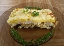 Zapečené filé s bramborami a zelím