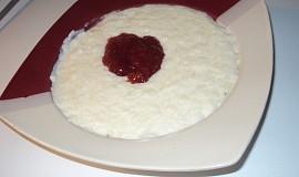 Mléčná rýže, sladká