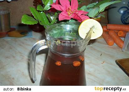Čaj Acai-Goji s rozinkama