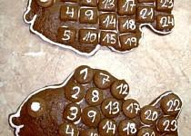 Adventní kalendář kapříci