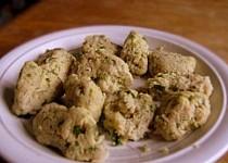 Krupicové halušky do polévky