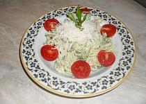 Mascarpone špagety s brokolicí