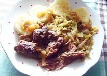 Krůtí maso pečené s rozmarýnem