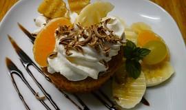 Oříškovo-kokosové muffiny