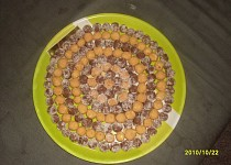 Piškotové a mandlové kuličky