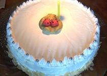 Dortík k 1. výročí - nepečený jablečný  dort