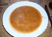 Rajská polévka s pohankou