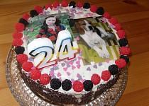 Narozeninový dort pro Vikiho