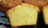 Banánové muffiny s topingem z vlašských ořechů