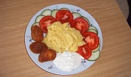Mini kuřecí řízečky s bramborovou kaší
