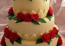 Svatební dort pro dceru