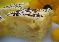Citronový koláč s hruškami