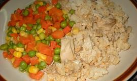 Kuře s rýží z pekáčku