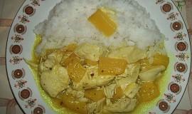 Kuře na ananasu