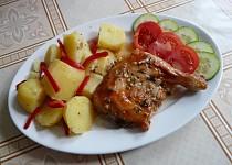 Kuře po španělsku s medem