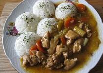 Kuřecí kousky se zeleninou Wok