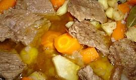 Pečené vepřové s mrkví