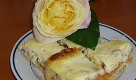 Meruňkovo - reveňový koláč