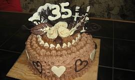Moje dorty k narozeninám - inspirace