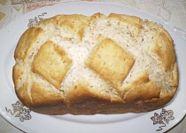 Podmáslový chléb se semínky